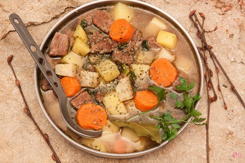 Boullionkartoffeln mit Rindfleisch