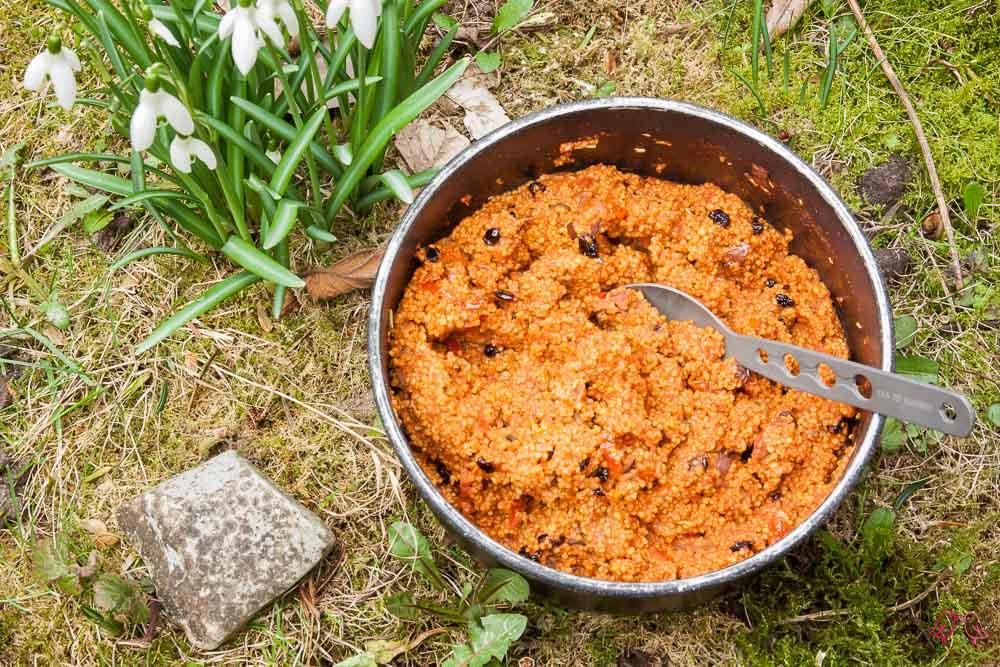 Couscous mit orientalischem Gemüse