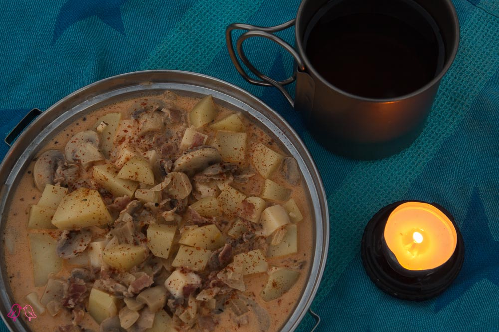 Kartoffel-Pilze